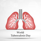 Tuberculosis Day Background Royalty Free Stock Photography
