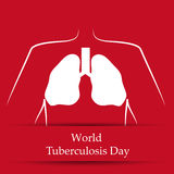 Tuberculosis Day Background Stock Images