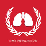 Tuberculosis Day Background Royalty Free Stock Images