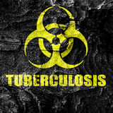 Tuberculosis virus concept background Royalty Free Stock Photo