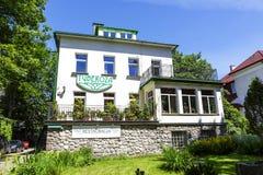 Tuberoza, maison de vacances dans Zakopane Images stock