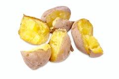 Tubers  potato Stock Photo