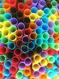 Tubes colorés image libre de droits