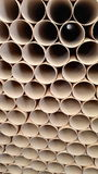 Tubes. Core cores cardboard paper Royalty Free Stock Image
