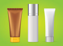 Tubes - cosmetic products Stock Images