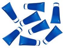 tubes crèmes de lotion Images libres de droits