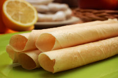 Tubes de vanille Photographie stock