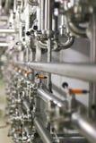 Tubes en acier Photo libre de droits