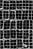 Tubes en aluminium expulsés Photo libre de droits