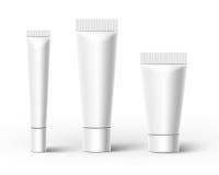 Tubes en plastique Vecteur Images stock