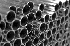 Tubes on the factory Stock Image