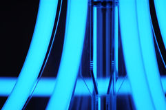 Tubes fluorescents Images stock