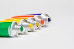 Tubes forefront Royalty Free Stock Photography