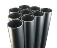 Tubes isolated on white background Stock Image