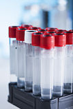 Tubes in the laboratory Royalty Free Stock Photo