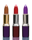Tubes of lipstick isolated Stock Photo