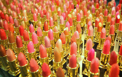 Tubes of lipstick Stock Photography