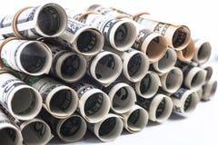 Money Pipes Stock Photo