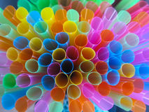 Tubes. Multicolored tubes abstract Stock Photography