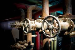 Tubes and pipes Stock Image