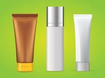 Tubes - produits cosmétiques Images stock