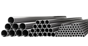 Tubes On Stock Stock Image