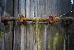 Tubi arrugginiti Fotografie Stock Libere da Diritti