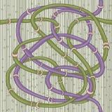 Tubi astratti. Fotografia Stock Libera da Diritti