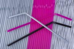 Tubi colorati del cocktail Fotografia Stock