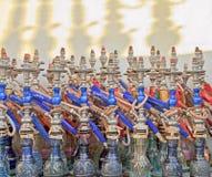 Tubi Colourful di Sheesha Fotografia Stock Libera da Diritti