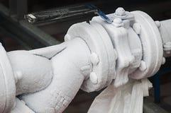 Tubi congelati Immagine Stock Libera da Diritti