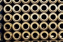 Tubi d'acciaio di Bulding Fotografia Stock Libera da Diritti