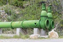 Tubi del bacino idrico immagini stock