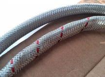 tubi del ferro, scandagliare Fotografie Stock