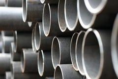 Tubi del metallo Fotografia Stock