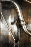 Tubi del metallo Immagini Stock Libere da Diritti