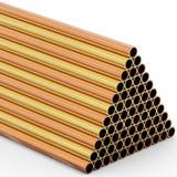 Tubi del metallo illustrazione vettoriale