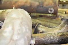 Tubi del metallo Immagine Stock Libera da Diritti