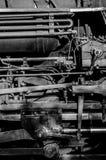 Tubi del motore a vapore Fotografia Stock Libera da Diritti