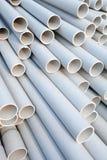 Tubi del PVC Fotografie Stock Libere da Diritti