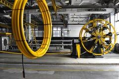 Tubi del PVC di fabbricazione Immagine Stock Libera da Diritti