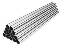 Tubi dell'acciaio inossidabile Immagini Stock Libere da Diritti