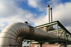 Tubi della fabbrica Fotografia Stock