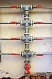 Tubi di acqua Fotografie Stock Libere da Diritti