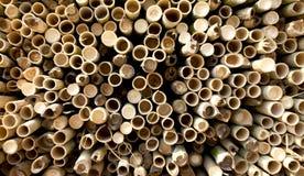 Tubi di bambù tailandesi Fotografia Stock Libera da Diritti