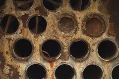Tubi di fiamma delle caldaie Fotografia Stock