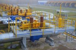 Tubi di gas Fotografie Stock