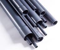 Tubi di PVC-U Fotografie Stock