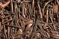 Tubi di rame Fotografia Stock Libera da Diritti