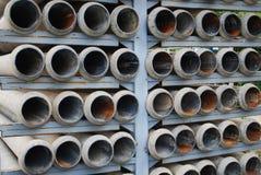 Tubi di scarico Fotografia Stock